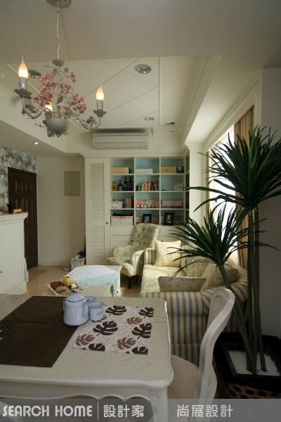 27坪新成屋(5年以下)_美式風客廳案例圖片_尚展空間設計_尚展_11之2