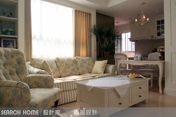 27坪新成屋(5年以下)_美式風客廳廚房案例圖片_尚展空間設計_尚展_11之1