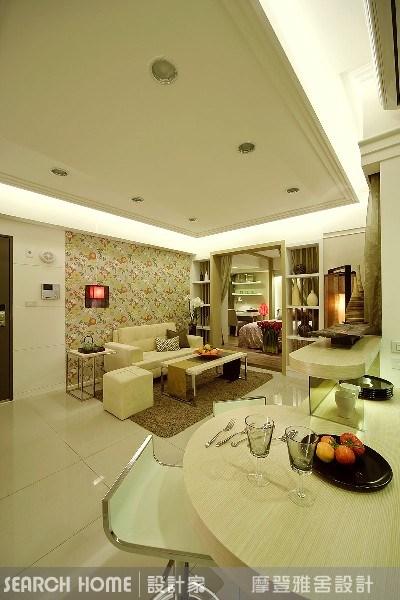 11坪新成屋(5年以下)_新中式風客廳案例圖片_摩登雅舍室內設計_摩登雅舍_01之7