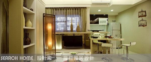 11坪新成屋(5年以下)_新中式風餐廳案例圖片_摩登雅舍室內設計_摩登雅舍_01之6