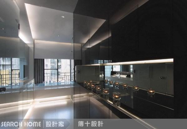 28坪新成屋(5年以下)_現代風走廊案例圖片_傳十空間設計_傳十_04之4
