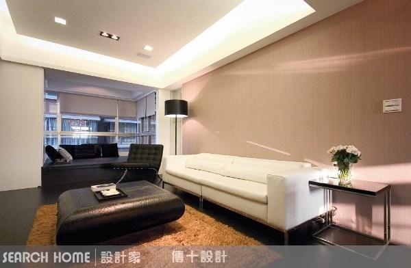 26坪新成屋(5年以下)_奢華風客廳案例圖片_傳十空間設計_傳十_03之7