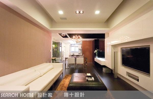 26坪新成屋(5年以下)_奢華風客廳案例圖片_傳十空間設計_傳十_03之6