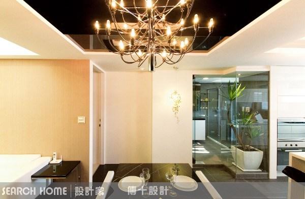 26坪新成屋(5年以下)_奢華風餐廳案例圖片_傳十空間設計_傳十_03之8