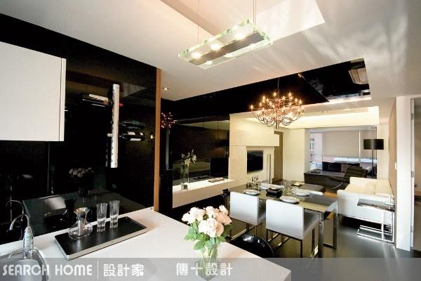 26坪新成屋(5年以下)_奢華風餐廳案例圖片_傳十空間設計_傳十_03之9