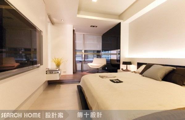 26坪新成屋(5年以下)_奢華風臥室案例圖片_傳十空間設計_傳十_03之5