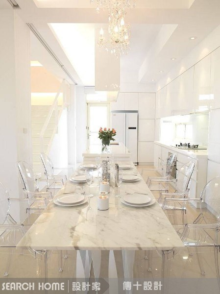 72坪新成屋(5年以下)_混搭風餐廳案例圖片_傳十空間設計_傳十_02之3