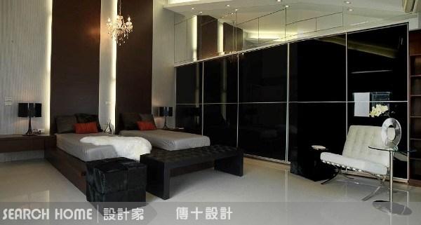 72坪新成屋(5年以下)_混搭風臥室案例圖片_傳十空間設計_傳十_02之2