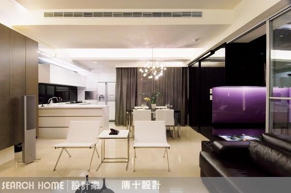29坪新成屋(5年以下)_現代風客廳案例圖片_傳十空間設計_傳十_01之4