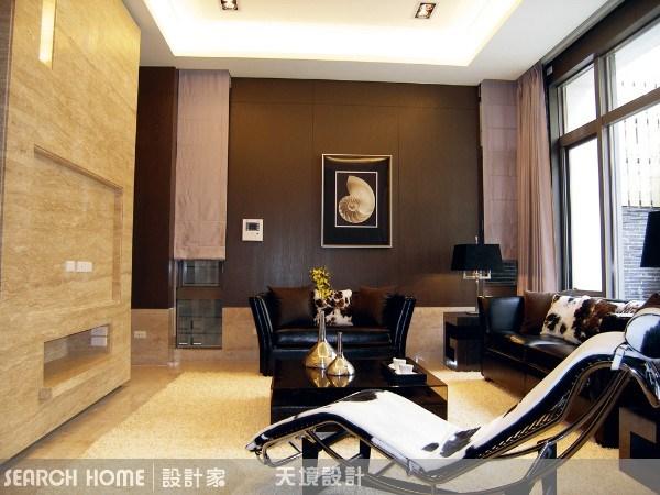 140坪新成屋(5年以下)_混搭風客廳案例圖片_天境空間設計_天境_02之3