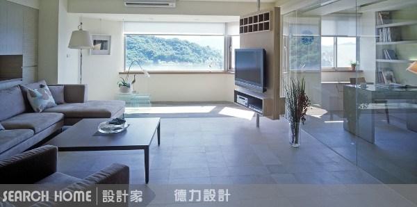 40坪新成屋(5年以下)_休閒風案例圖片_德力室內裝修有限公司_德力_02之1