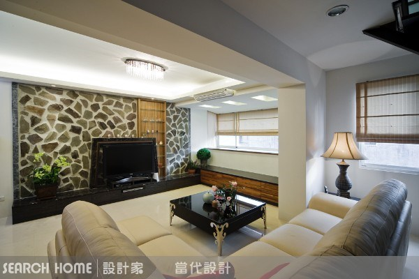 40坪老屋(16~30年)_休閒風客廳案例圖片_當代空間有限公司_當代_09之15