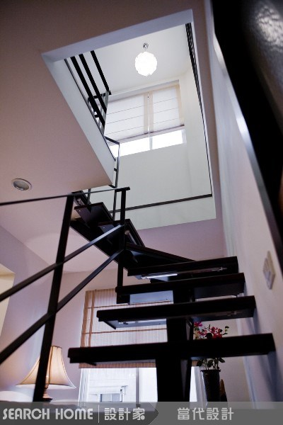 40坪老屋(16~30年)_休閒風樓梯案例圖片_當代空間有限公司_當代_09之3
