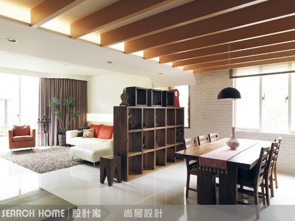 80坪新成屋(5年以下)_休閒風客廳餐廳案例圖片_尚展空間設計_尚展_09之3