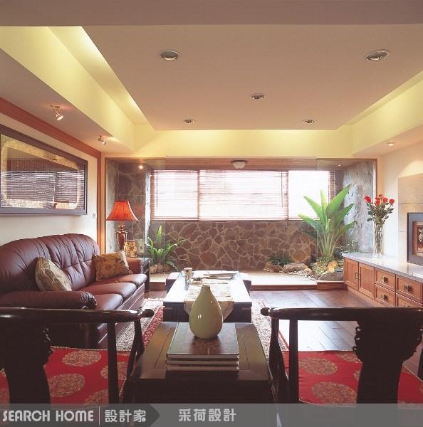 52坪老屋(16~30年)_新中式風客廳案例圖片_采荷設計_采荷_08之1