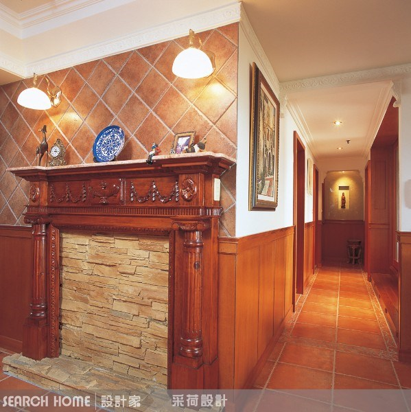 42坪中古屋(5~15年)_鄉村風走廊案例圖片_采荷設計_采荷_06之5