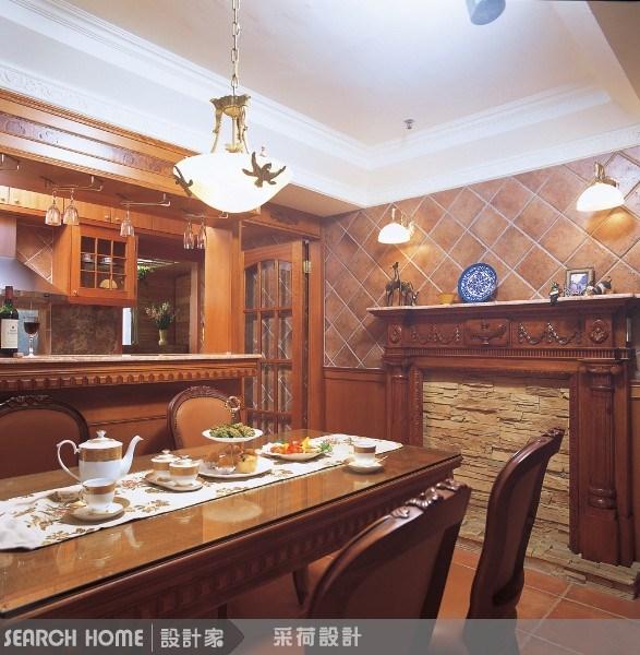 42坪中古屋(5~15年)_鄉村風餐廳案例圖片_采荷設計_采荷_06之2