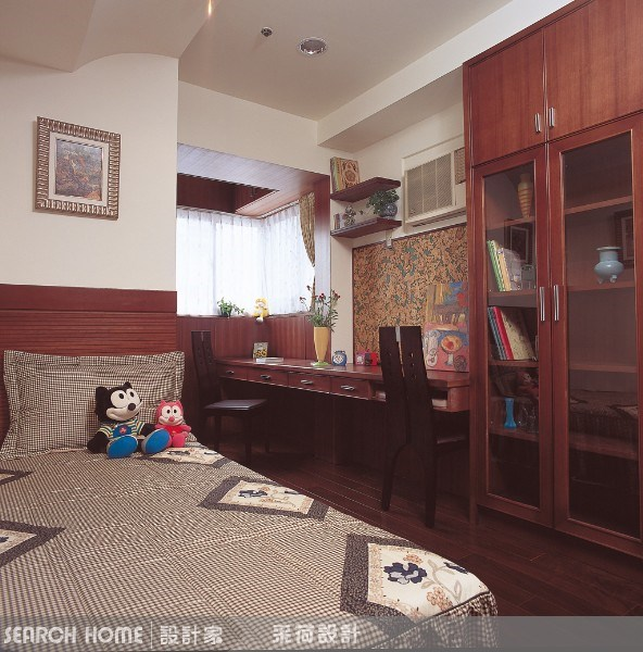 28坪中古屋(5~15年)_新中式風臥室案例圖片_采荷設計_采荷_03之9