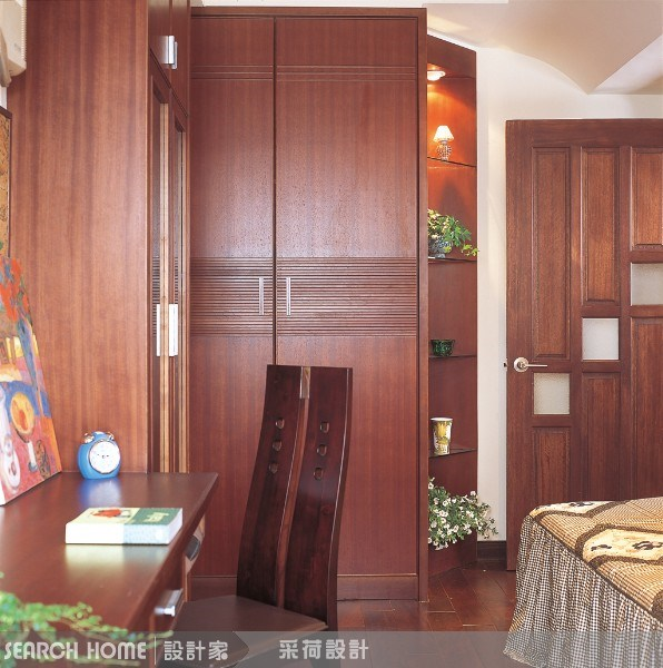 28坪中古屋(5~15年)_新中式風臥室案例圖片_采荷設計_采荷_03之1
