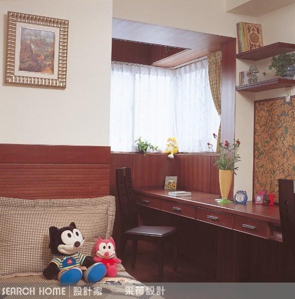 28坪中古屋(5~15年)_新中式風臥室案例圖片_采荷設計_采荷_03之6