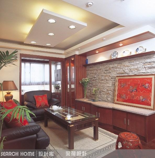 28坪中古屋(5~15年)_新中式風客廳案例圖片_采荷設計_采荷_03之3