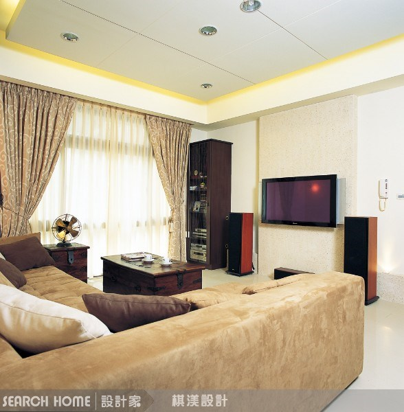35坪新成屋(5年以下)_現代風案例圖片_棋渼室內設計_棋渼_02之3