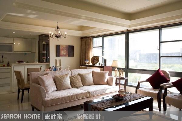 40坪新成屋(5年以下)_混搭風案例圖片_原點室內設計_原點_06之1
