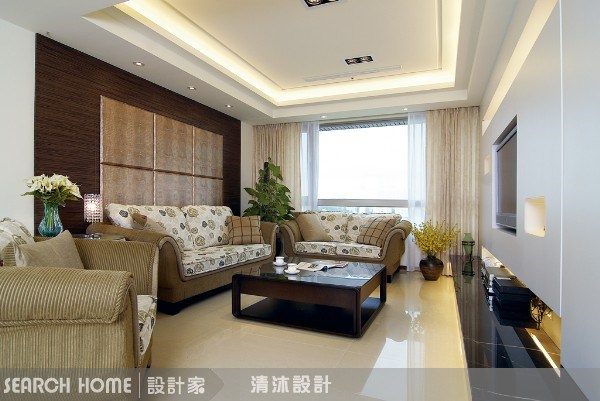 38坪新成屋(5年以下)_混搭風案例圖片_清沐室內裝修_清沐_01之1