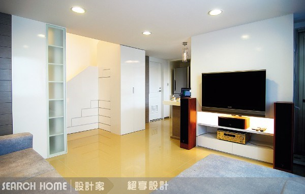 18坪新成屋(5年以下)_現代風客廳案例圖片_絕享設計_絕享_06之4