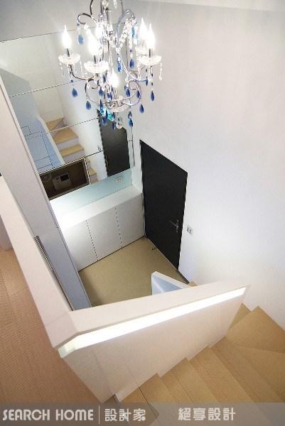 18坪新成屋(5年以下)_現代風樓梯案例圖片_絕享設計_絕享_06之12