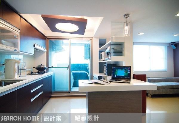 18坪新成屋(5年以下)_現代風廚房案例圖片_絕享設計_絕享_06之6