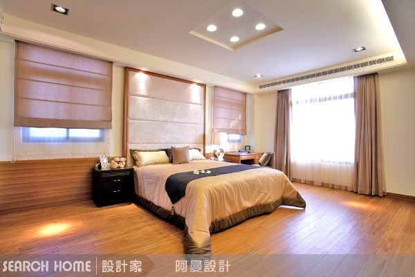 120坪新成屋(5年以下)_混搭風臥室案例圖片_阿曼空間設計_阿曼_04之19