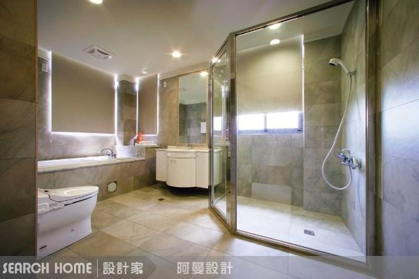 120坪新成屋(5年以下)_混搭風浴室案例圖片_阿曼空間設計_阿曼_04之4