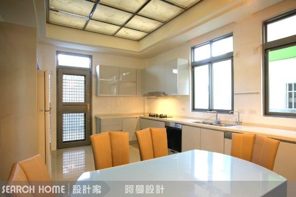 120坪新成屋(5年以下)_混搭風餐廳廚房案例圖片_阿曼空間設計_阿曼_04之16
