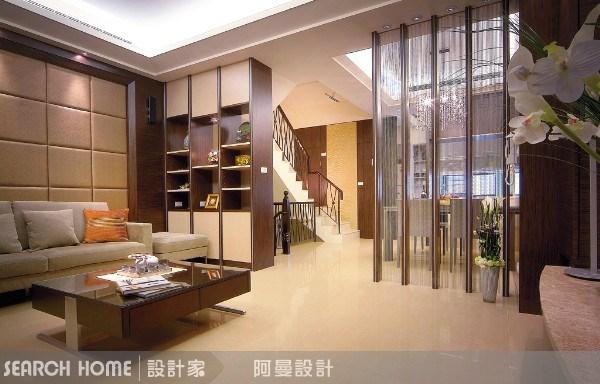 80坪新成屋(5年以下)_現代風客廳案例圖片_阿曼空間設計_阿曼_03之2