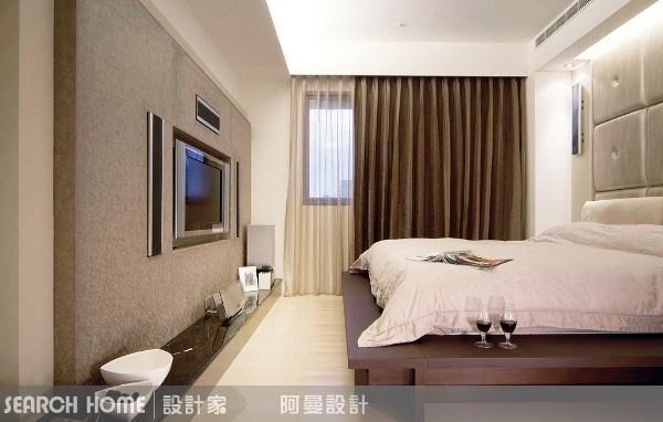 30坪新成屋(5年以下)_現代風臥室案例圖片_阿曼空間設計_阿曼_02之2