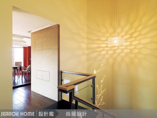 150坪新成屋(5年以下)_現代風樓梯案例圖片_尚展空間設計_尚展_07之2