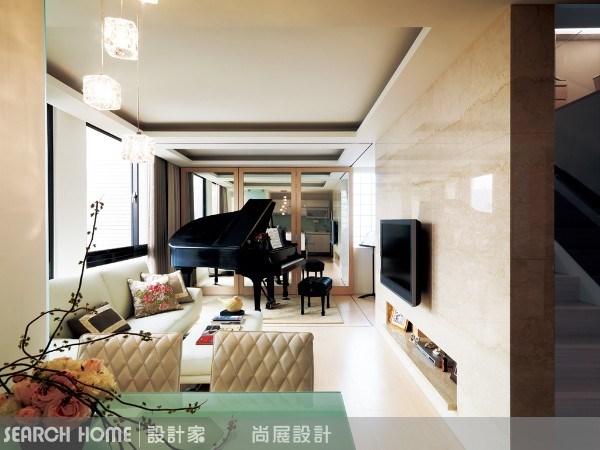 23坪新成屋(5年以下)_現代風客廳案例圖片_尚展空間設計_尚展_06之2