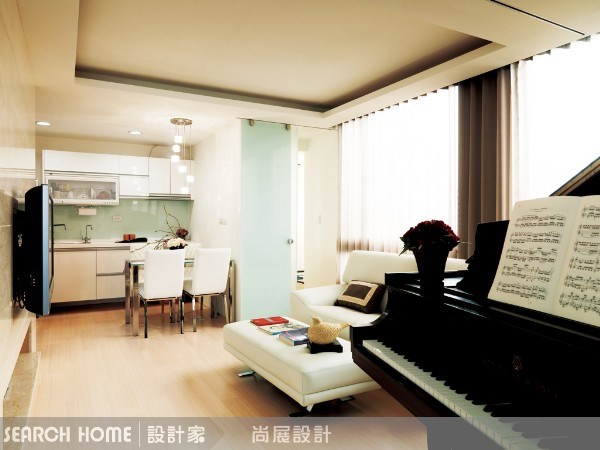 23坪新成屋(5年以下)_現代風客廳案例圖片_尚展空間設計_尚展_06之3