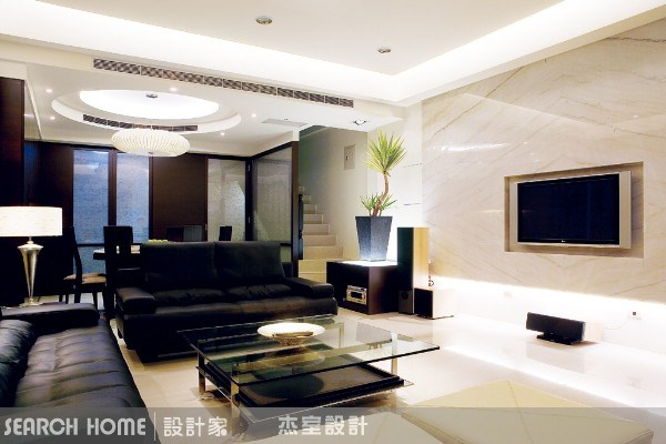 100坪新成屋(5年以下)_現代風案例圖片_杰室設計_杰室_01之4