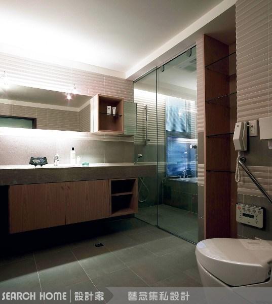 200坪新成屋(5年以下)_奢華風浴室案例圖片_藝念集私空間設計_藝念集私_08之4
