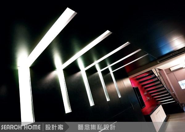 20坪新成屋(5年以下)_現代風樓梯走廊案例圖片_藝念集私空間設計_藝念集私_07之1