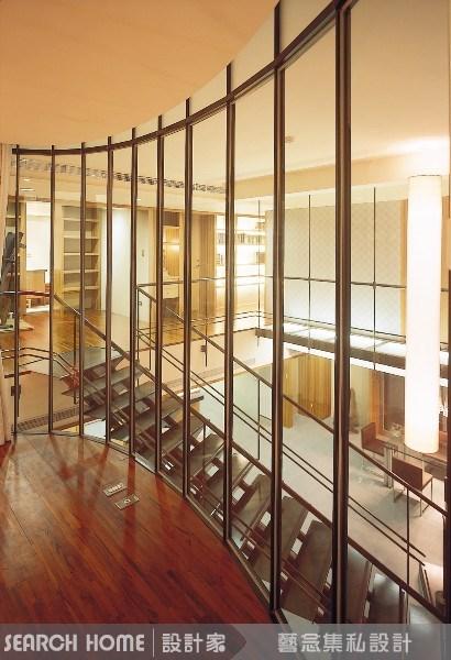 90坪新成屋(5年以下)_現代風樓梯案例圖片_藝念集私空間設計_藝念集私_04之3