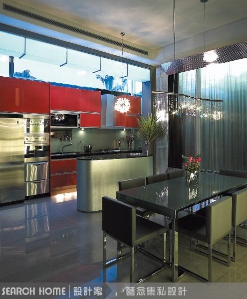 110坪新成屋(5年以下)_現代風餐廳案例圖片_藝念集私空間設計_藝念集私_03之2
