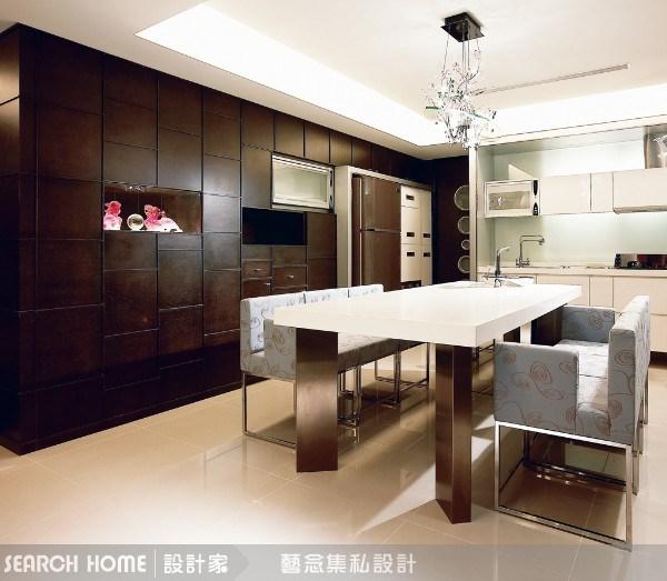 32坪新成屋(5年以下)_現代風餐廳案例圖片_藝念集私空間設計_藝念集私_02之3
