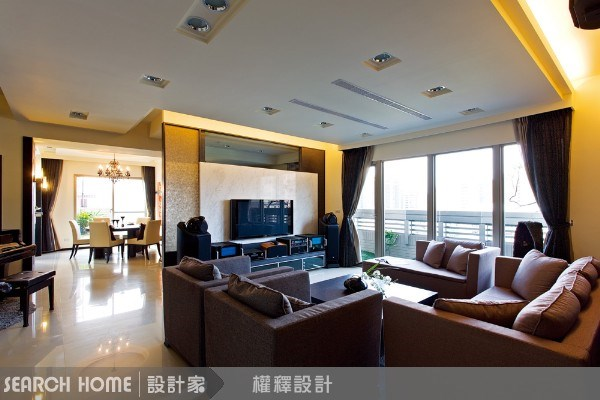 60坪新成屋(5年以下)_新中式風案例圖片_權釋設計_權釋_01之5