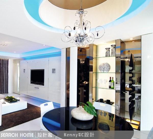 28坪新成屋(5年以下)_現代風案例圖片_Kenny&C室內設計_Kenny&C_01之2