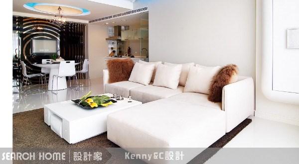 28坪新成屋(5年以下)_現代風案例圖片_Kenny&C室內設計_Kenny&C_01之4
