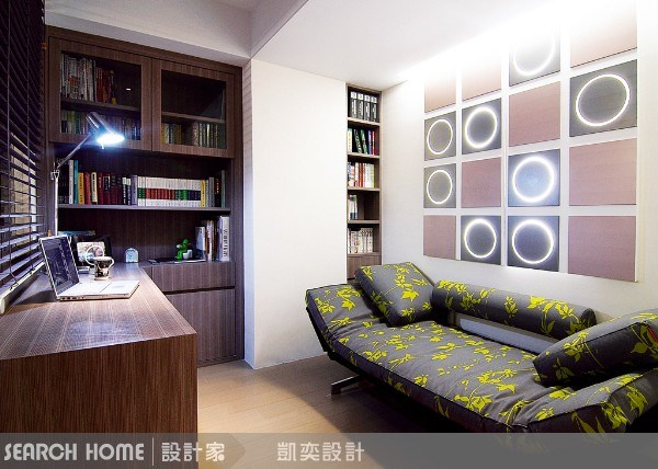 35坪新成屋(5年以下)_現代風案例圖片_凱奕設計顧問_凱奕_02之11