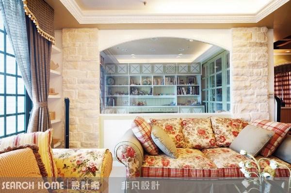 42坪新成屋(5年以下)_鄉村風案例圖片_非凡室內設計_非凡_01之1